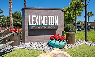 Community Signage, The Lexington at Winter Park, 2