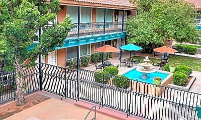 Pool, Sandia Shadows Apartments, 0