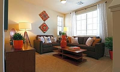 Living Room, Everett Apartment Homes, 1