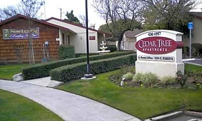 Building, Cedar Tree I Apartments, 0