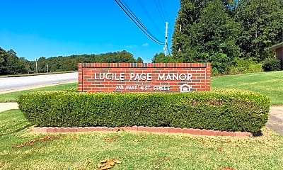 Lucile Page Manor Apartments, 1