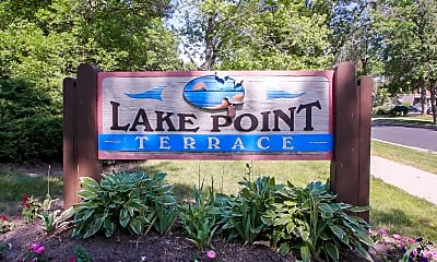 Community Signage, Lake Point Terrace Apartments, 2