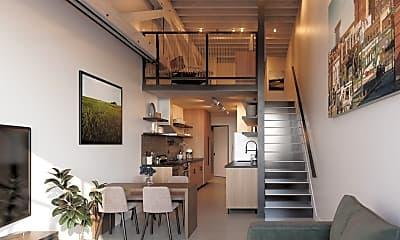Kitchen, Lolo Lofts, 0