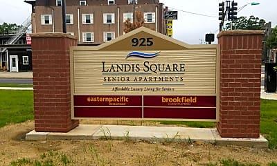 Landis Square Senior Apartments, 1