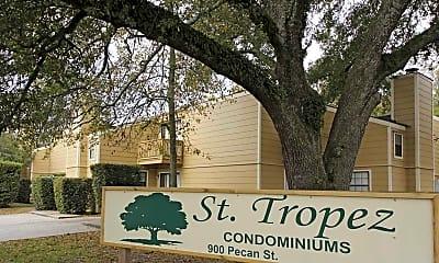 Community Signage, St.Tropez Condominiums, 2