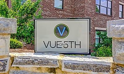 Community Signage, Vue on 5th, 2