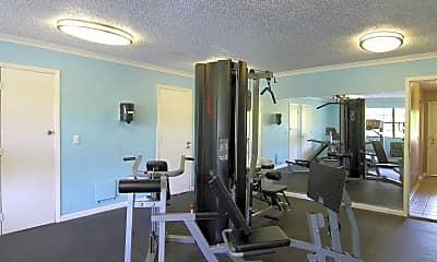 Fitness Weight Room, Auburn Glen, 2