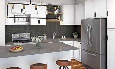 Kitchen, 205 Park Ave 621, 1