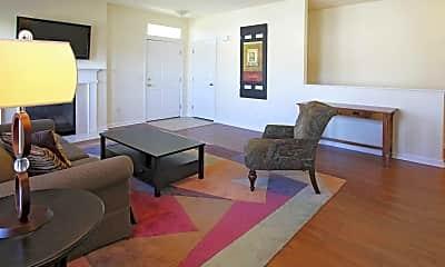 Living Room, Rivercrest Luxury Apartments, 1