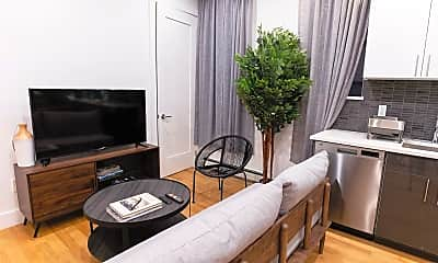 Living Room, 2053 Frederick Douglass Blvd, 1