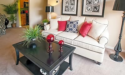 Living Room, Ridge View Apartment Homes, 1