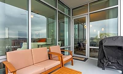 Patio / Deck, 400 Riverboat Row 701, 2