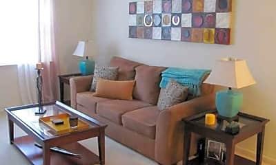 Living Room, Foxcroft Village Apartments, 0