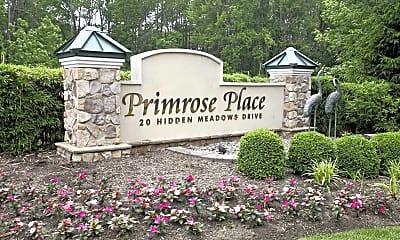 Community Signage, Primrose Place, 2