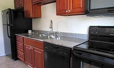 Kitchen, Beach Club Apartments, 0