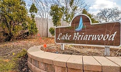 Community Signage, Lake Briarwood Townhomes, 2