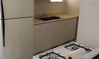 Kitchen, 3547 N. Claremont Unit 2, 1