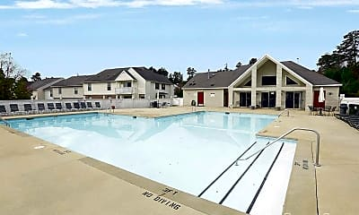 Pool, Beaver Creek Apartments and Townhomes, 1