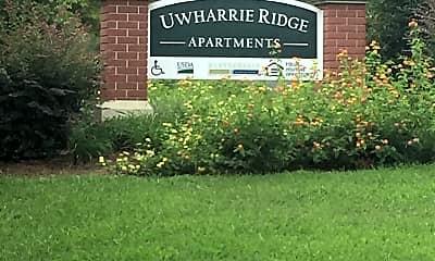 Uwharrie Ridge, 1