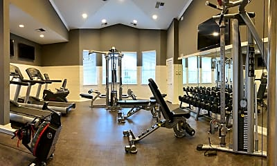 Fitness Weight Room, Bridlewood at Westland, 2