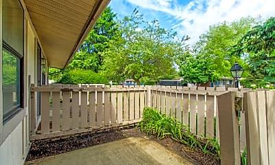 Patio / Deck, Ridgewood Apartments, 1