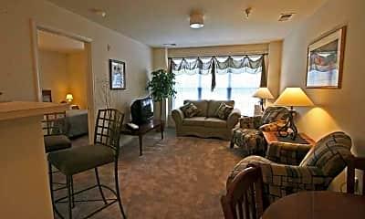 Living Room, Carter Woods Senior Living 62+, 2