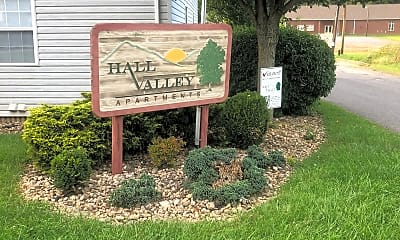 Hall Valley Apartments, 1