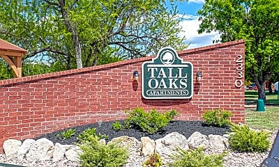 Community Signage, Tall Oaks Apartment Homes, 2