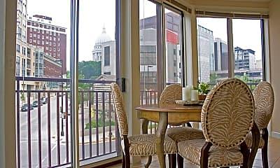 Patio / Deck, Hamilton Place Luxury Apartments, 1