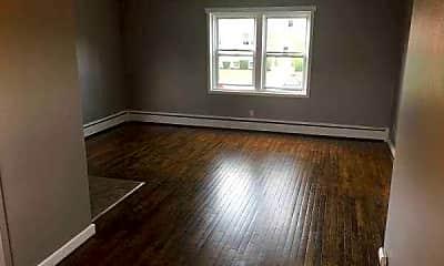 Living Room, Linda Lane Apartments, 1