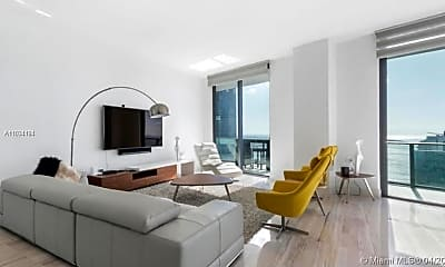 Living Room, 1300 S Miami Ave PH5003, 1