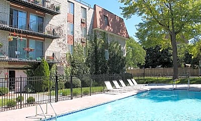 Pool, The Sovereign Apartments, 0