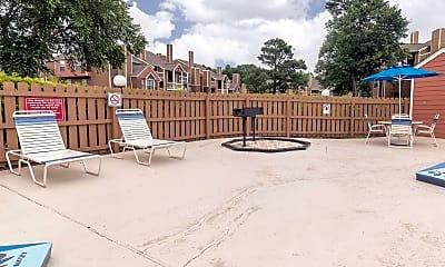 Pool, Oak City Apartments, 1