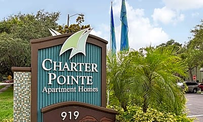 Community Signage, Goldelm at Charter Pointe, 2