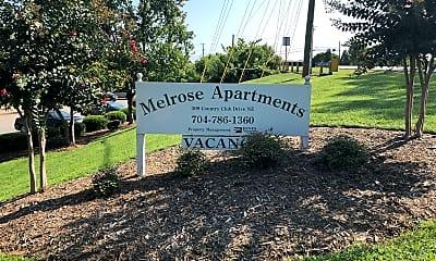Melrose Apartments, 1