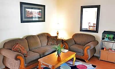 Living Room, Weavertown Terrace, 1