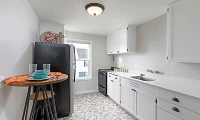 Kitchen, Seaglass Village Apartments, 1