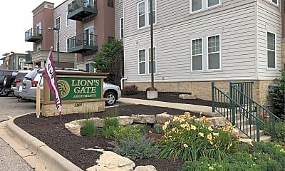 Lion's Gate Apartments, 1