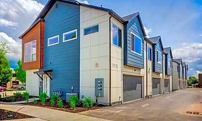 Building, Hawthorne Townhomes, 2
