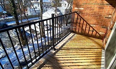 Patio / Deck, 6210 Ridge Ave 18, 2