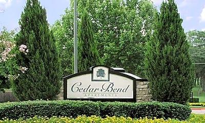 Community Signage, Cedar Bend, 0
