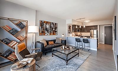 Living Room, 907 N Orleans St, 1