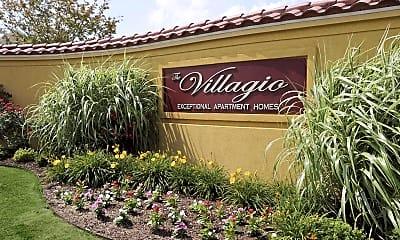 Community Signage, The Villagio, 2
