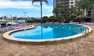 Pool, 660 Island Way 607, 1