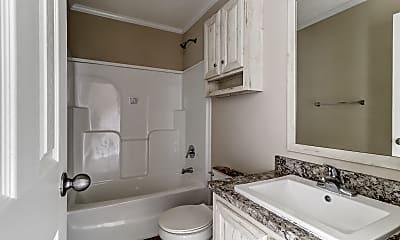 Bathroom, Paradise Village, 2