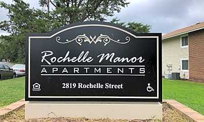 Rochelle Manor Apartments, 1