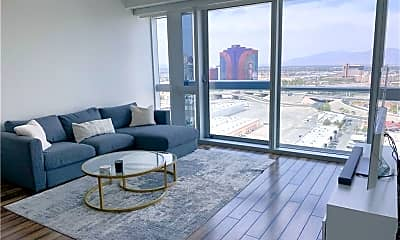 Living Room, 4471 Dean Martin Dr 2404, 0