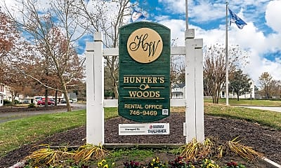 Community Signage, Hunter Woods, 1
