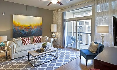 Living Room, AMLI RidgeGate, 1