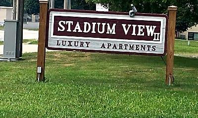 Stadium View III, 1